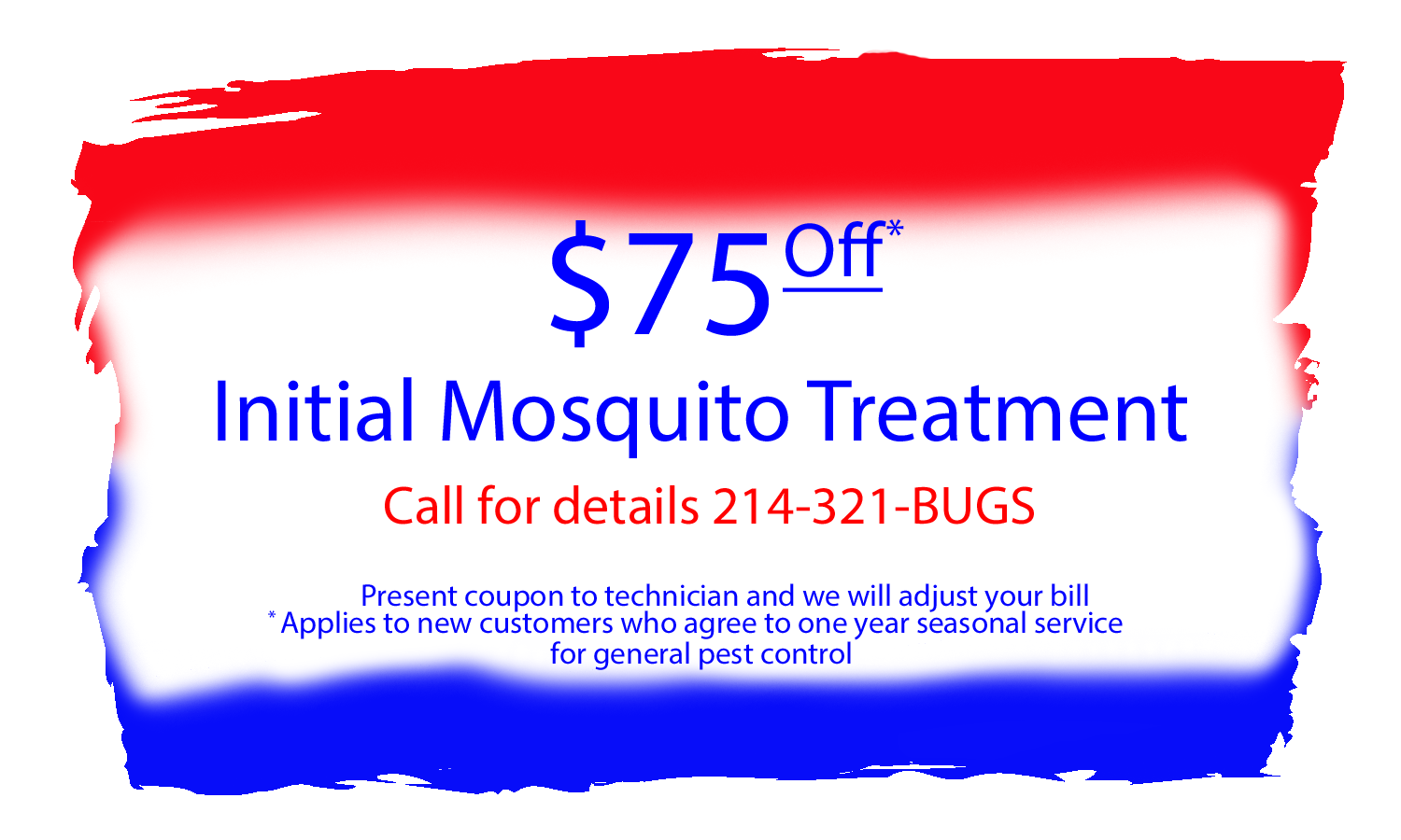 Mosquito Pest Control Coupon